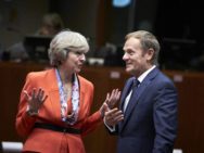 Theresa May und Donald Tusk. (Foto: EU-Rat)